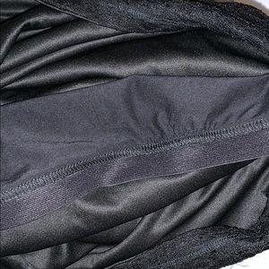 Express Tops - Express Black Lace Cami
